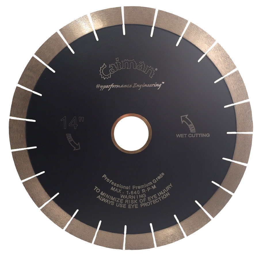 Super Prem. Diamond Array Silent Core Granite Blade