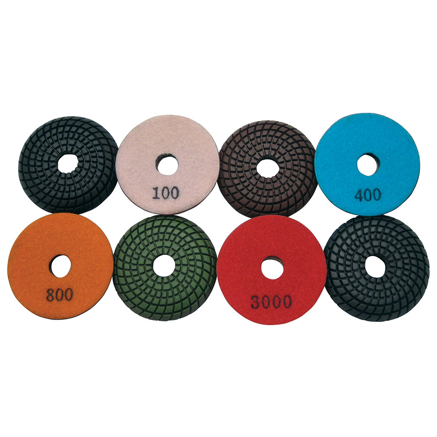 "3"" Super Prem. Convex Wet Polishing Pad"