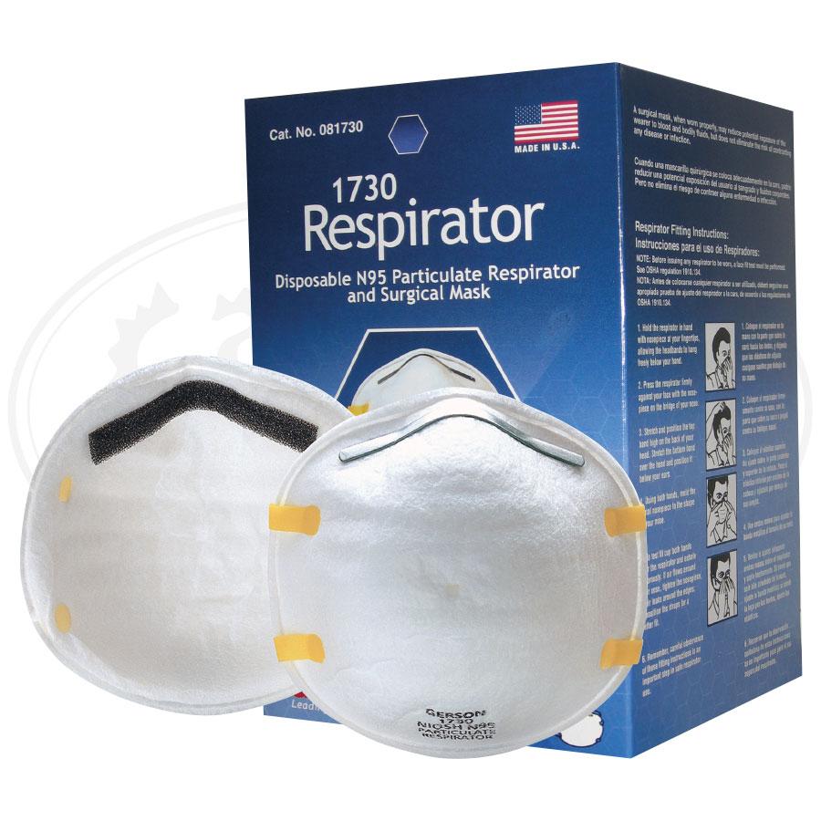 Particulate Respirators - N95 (Gerson 1730)