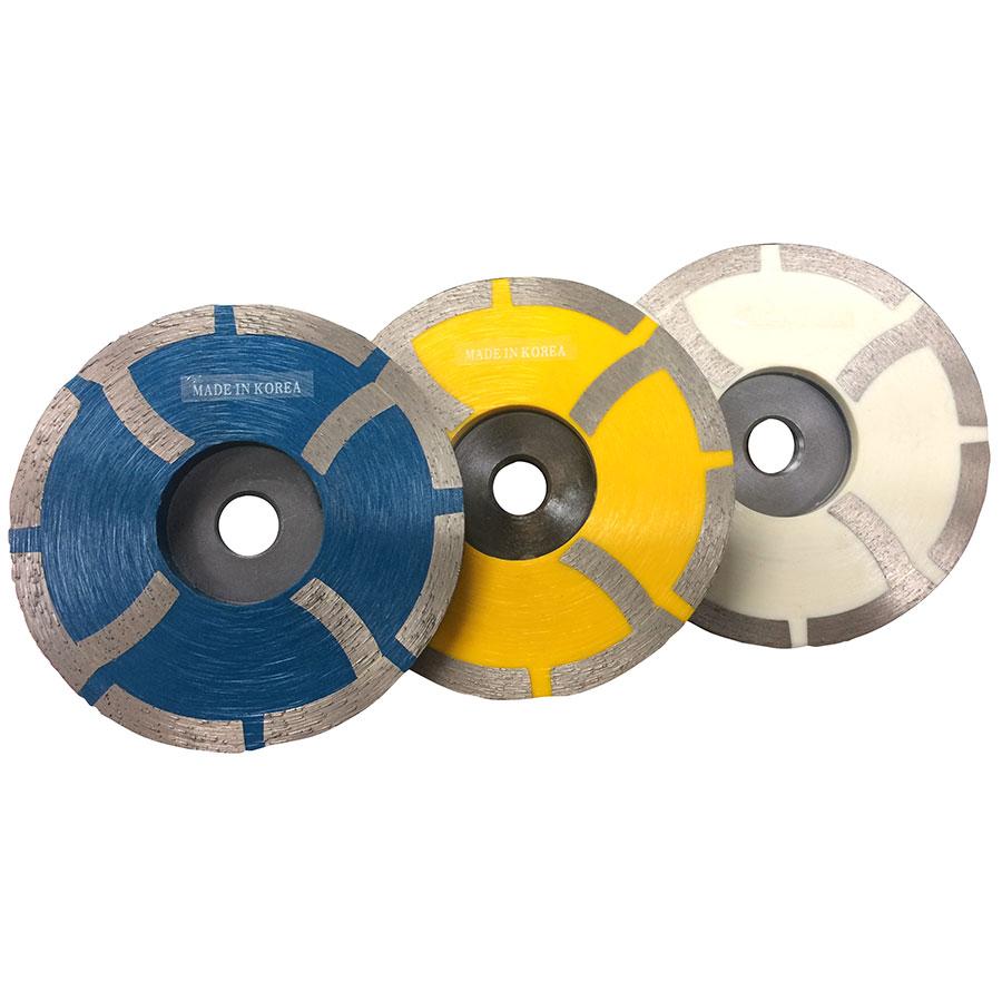 """Super Prem. 4"""" Resin Filled Cup Wheel"""