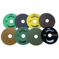 "4"" Super Prem. Wet Polishing Pad"