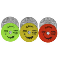 "4"" Super Prem. 3-Step Hybrid Wet/Dry Polishing Pad"