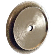 "6"" Brazed Diamond Profile Wheel, 3/8 Radius"