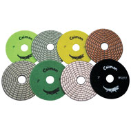 "4"" Prem. Dry Polishing Pad"