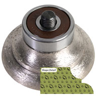 Sintered Router Bit - O (Cove-Dupont)