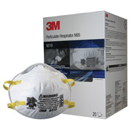 Particulate Respirators - N95 (3M 8210)